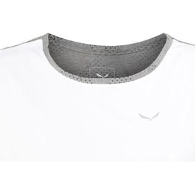 SALEWA Puez Hybrid Dry T-shirt Dames, white/0538